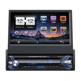 "Wodasound ® universal 9027DVD 7"" 1 Din GPS Navigation Car Stereo DVD Player Bluetooth Radio/Video/Audio"