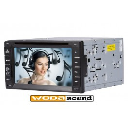 Wodasound ® universal Double 2 Din GPS Navigation Car Stereo DVD Player Bluetooth Radio/Video/Audio
