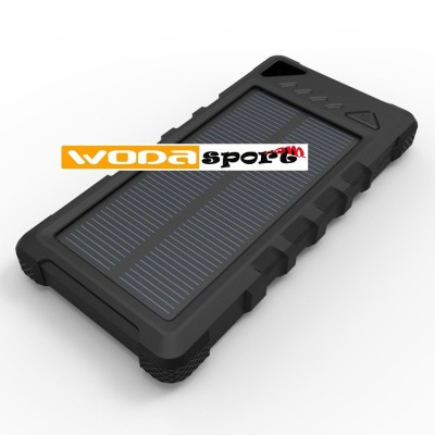 Wodasport ® OUTDOOR ADVENTURE™ Powerbank Power&SUN™ 16000mAh+ solar charger, 2*USB 1.0A 2,4A, GPS, phones, tablets